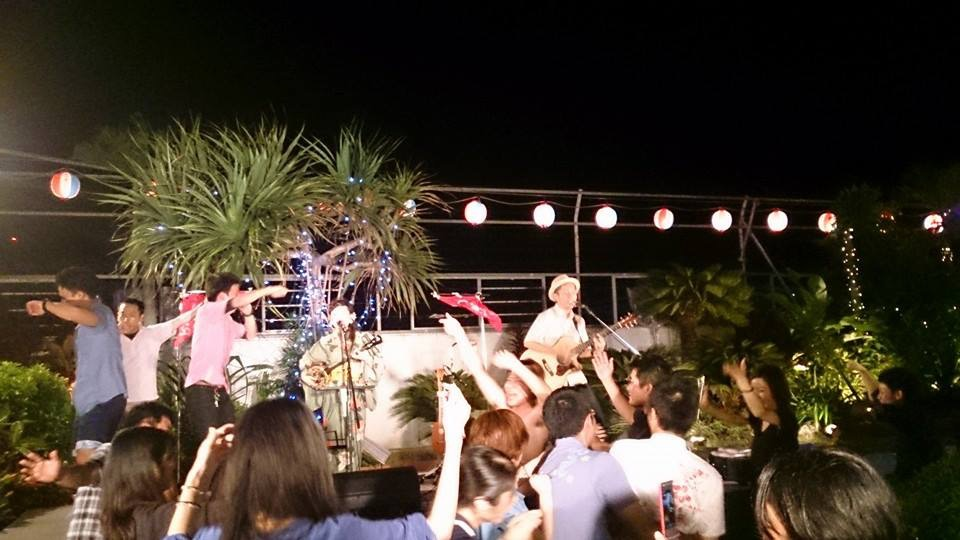 6/15 パレットくもじ屋上ビアガーデン