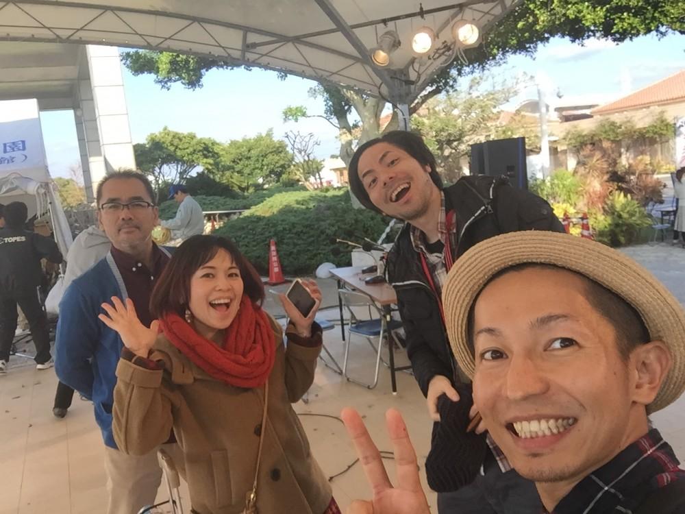 7/3 ラジオ沖縄公開生放送ゲスト出演